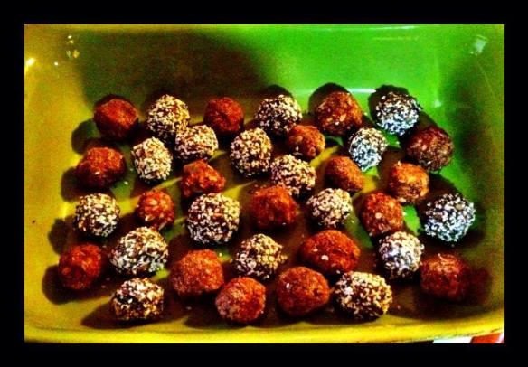 No Bake Sweet Potato Crunch Balls ~ by Ursie Lucas