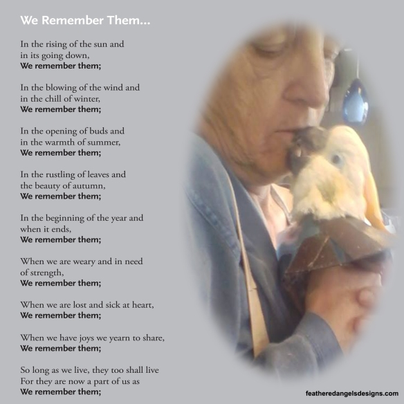 We Remember them Luci and Sammy